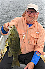 PB Huge Trophy Smallmouth Bass Fishing by Mark
